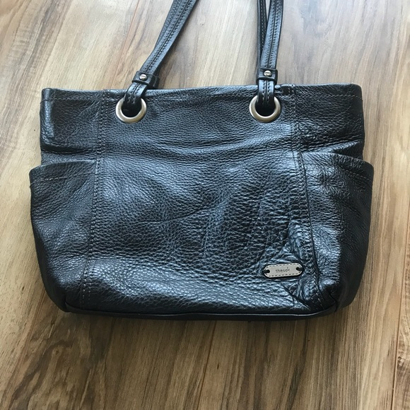 The sack leather purse side back lots of pockets 104186db42dc